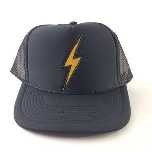 2a5e288f083 Aviator Nation Accessories - Aviator Nation vintage lightning bolt trucker  hat